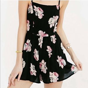Kimchi Blue Rosey Posey Floral Romper